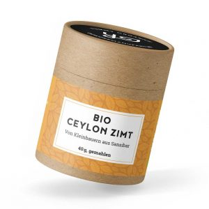 Bio Ceylon Zimt, 40g Dose