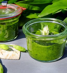 Bärlauch-Pesto