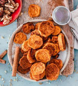 Zimtige Süßkartoffeltaler