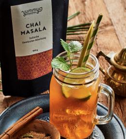 Erfrischender Chai-Iced-Tea