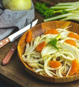 Frischer Fenchel-Orangen-Salat